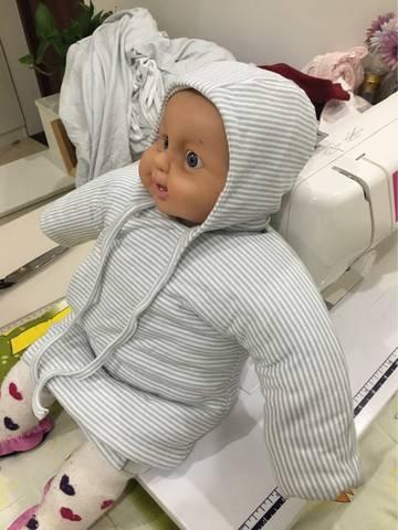 给宝宝制作棉衣棉裤